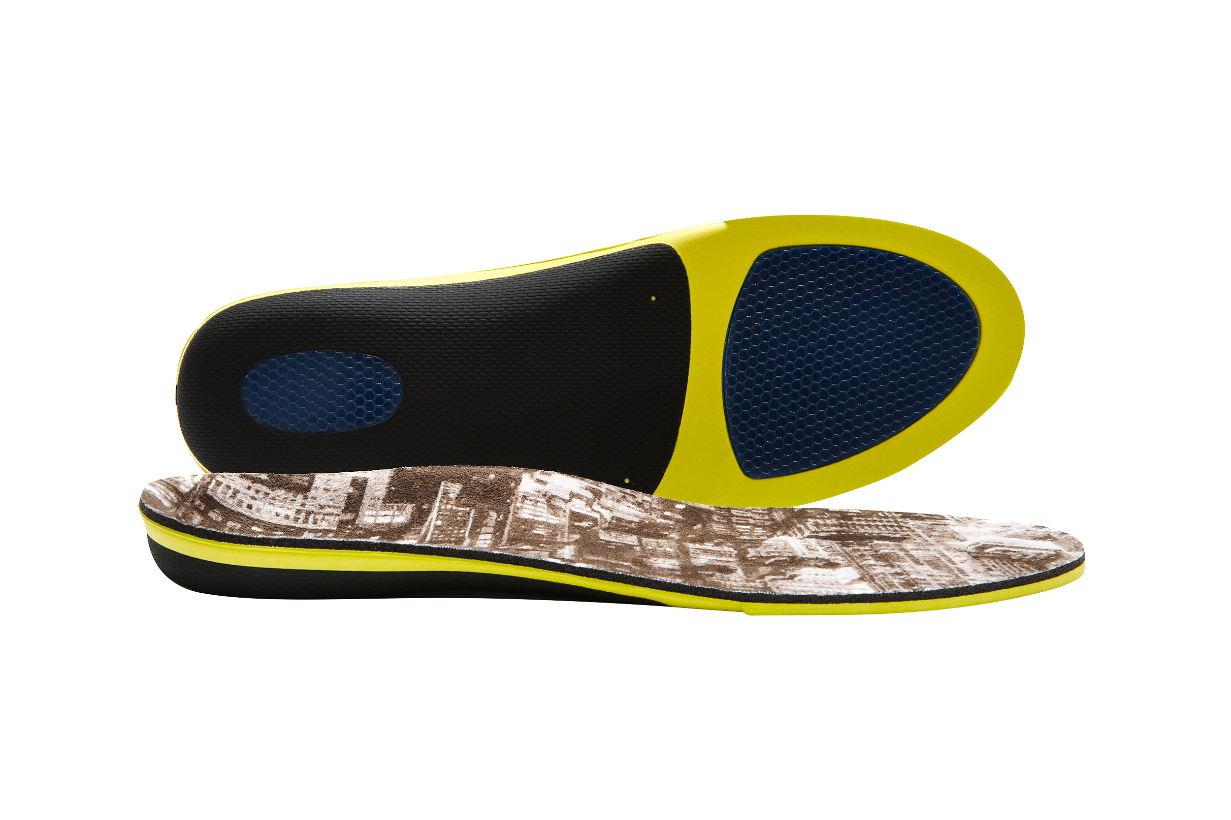 Men's Work Boot Insole with Memory Foam