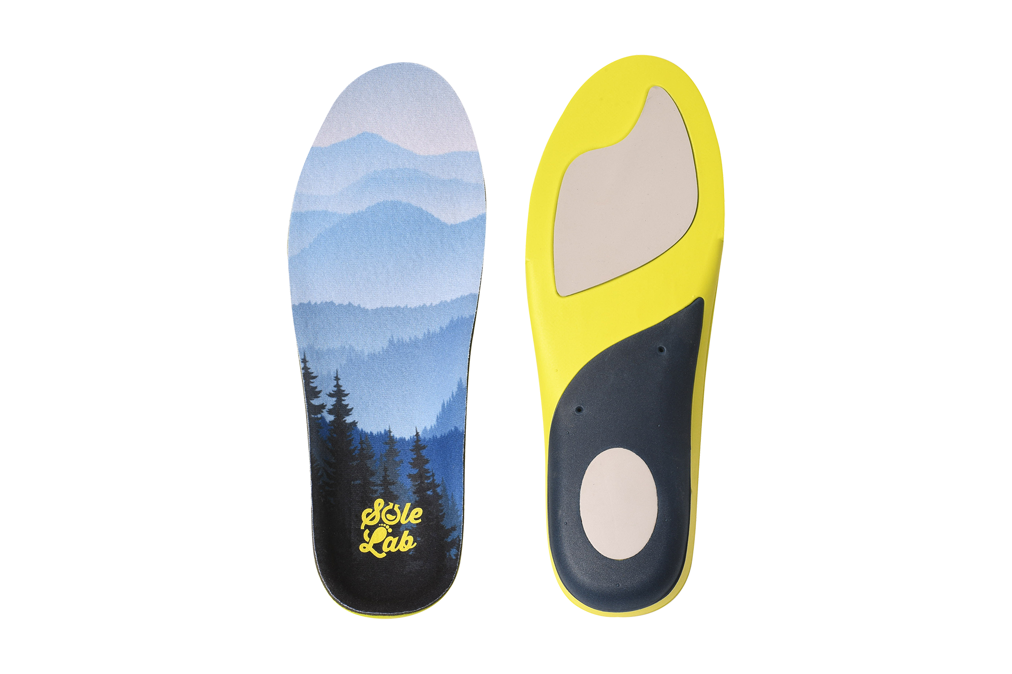 Insoles for Men's Running Shoes with Memory Foam